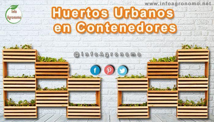 Huertos urbanos en contenedores