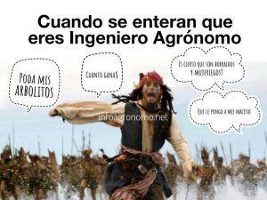 Memes de Agronomia: cuando se enteran que eres Agronomo