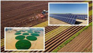 energía solar en la agricultura