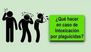 Sintomas de intoxicaciones por plaguicidas