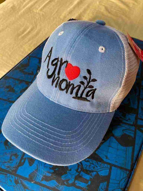 Gorra azul agronomia