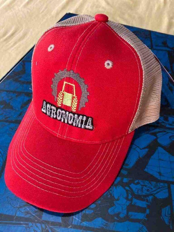 Gorra Agronomia roja
