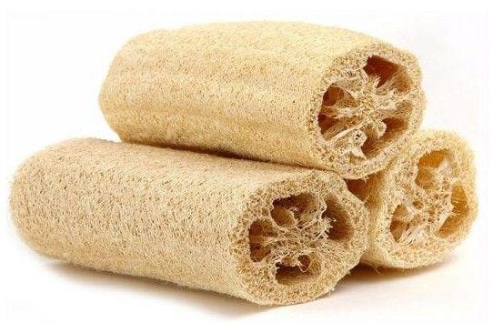 Luffa, esponja natural
